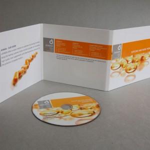 CD Labelgestaltung und Booklets